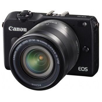 Canon 佳能 EOS M2 18-55mm f/3.5-5.6 + 22mm f/2.0 雙頭套機