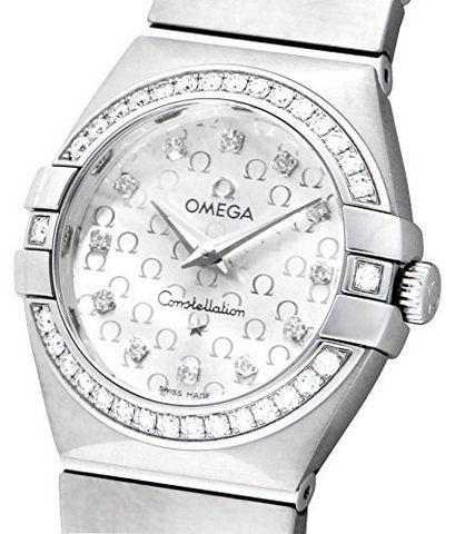 OMEGA 欧米茄 Constellation 星座系列 Diamond 123.15.27.60.52.001 女款时装腕表