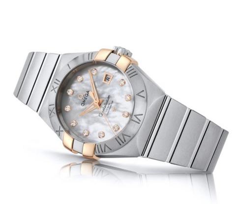 新低价:OMEGA 欧米茄 Constellation 星座系列 123.20.31.20.55.003 女款机械腕表
