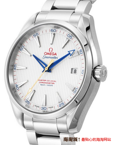 OMEGA 欧米茄 Seamaster系列 Aqua Terra 231.10.42.21.02.004 男款机械表