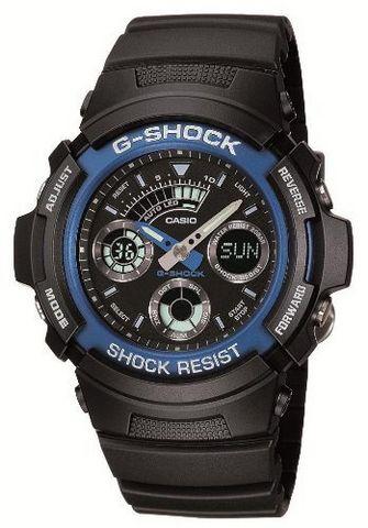 CASIO 卡西欧 G-SHOCK AW-591-2AJF G防震运动双显男表