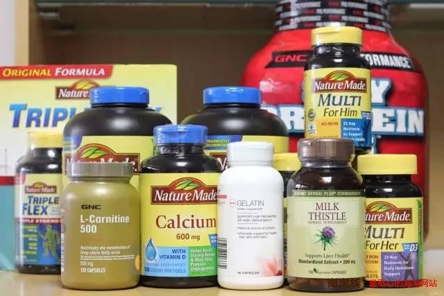 2016最新美国保健品品牌排行榜前十名