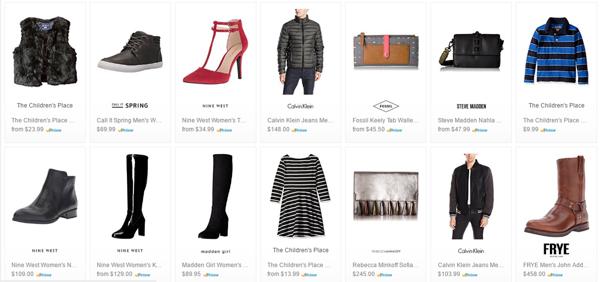 美国亚马逊 精选服饰鞋包 黑五促销周