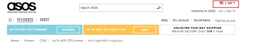 【2.9折!】老佛爷同名品牌  Karl Lagerfeld 女士太阳镜 £38(约275元)
