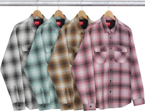 海淘法兰绒格子衬衫:北美工农也很时尚