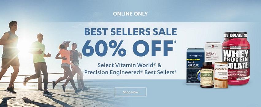 【近期好价】Vitamin World:全场保健品