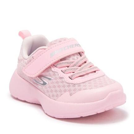 Skechers Dynamight Lead 粉色童款运动鞋 .97(约137元) - 海淘优惠海淘折扣|55海淘网