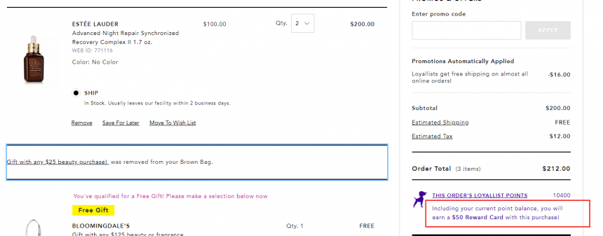 Bloomingdales:la mer、兰蔻、科颜氏等美妆护肤品牌 每满200送价值礼卡+品牌满赠 - 海淘优惠海淘折扣|55海淘网